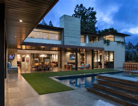 moder home modern suburban home in california by rdm general