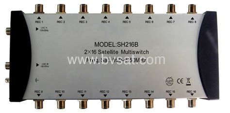 Multiswitch 4x8 diseqc multiswitch 2in 16 out from china manufacturer