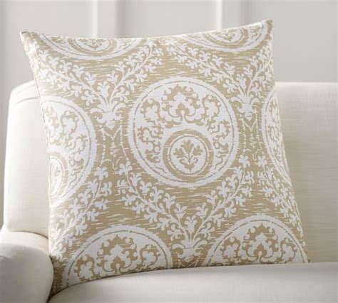 Medallion Pillow Covers by Frances Medallion Pillow Cover Pottery Barn