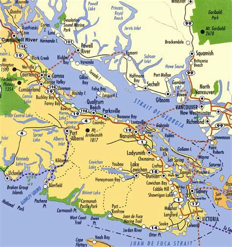 america map vancouver maps of vancouver