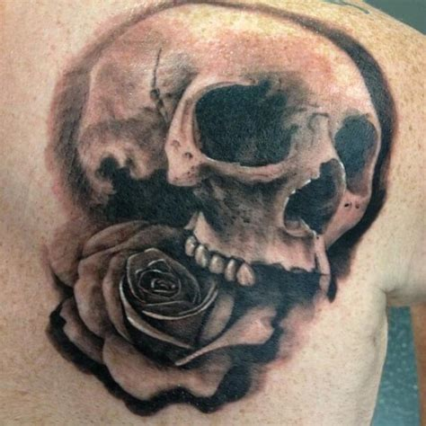 detailed rose tattoos top 10 detailed skull tattoos