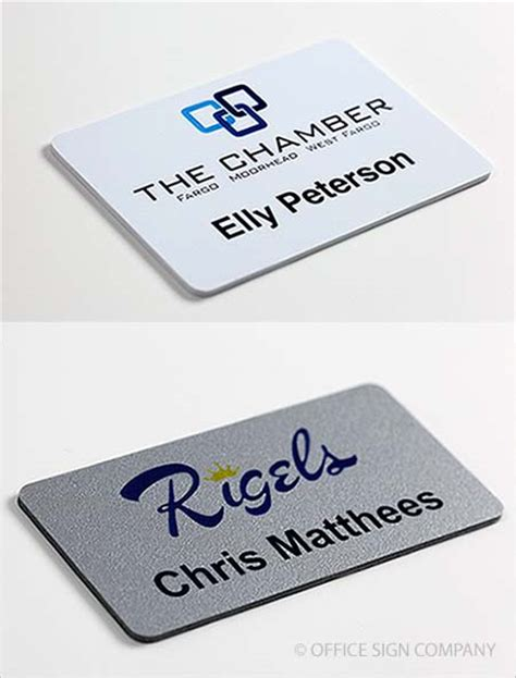 the color badge logo name tags color name badges