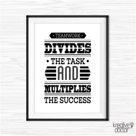 free printable office quotes office wall art teamwork quotes printable success quotes