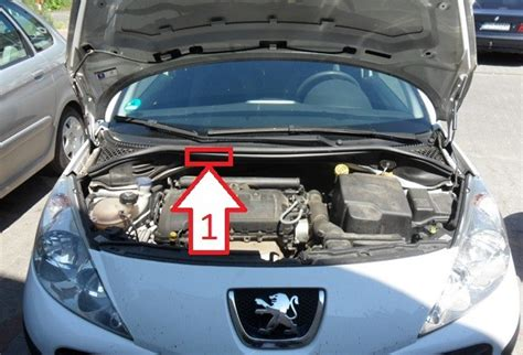 peugeot number peugeot 207 2006 2012 where is vin number find