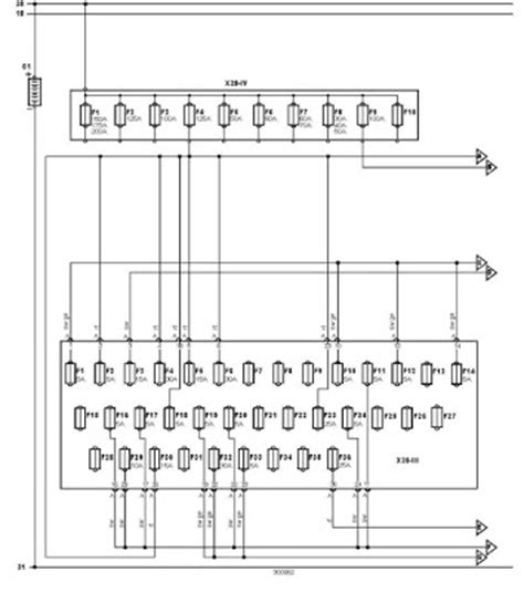 vw t4 caravelle wiring diagram vw t4 fuse box wiring