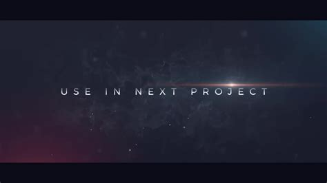 cinematic trailer after effects templates motion array