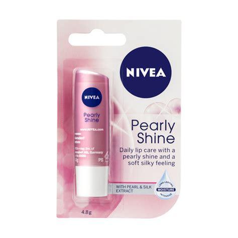 Lipgloss Nivea pearly shine nivea lip balm kmart