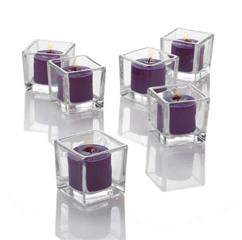 Plain Glass Candle Holders by Tealights Plain Glass Candle Holders Wholesale Buy