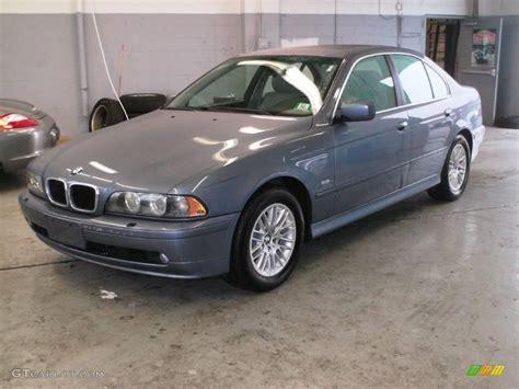 2002 bmw 530i 2002 blue water metallic bmw 5 series 530i sedan 8704910