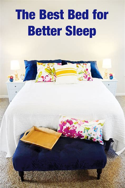 Best Mattress For Tossing And Turning by The Best Bed For Better Sleep Sprinkle Some