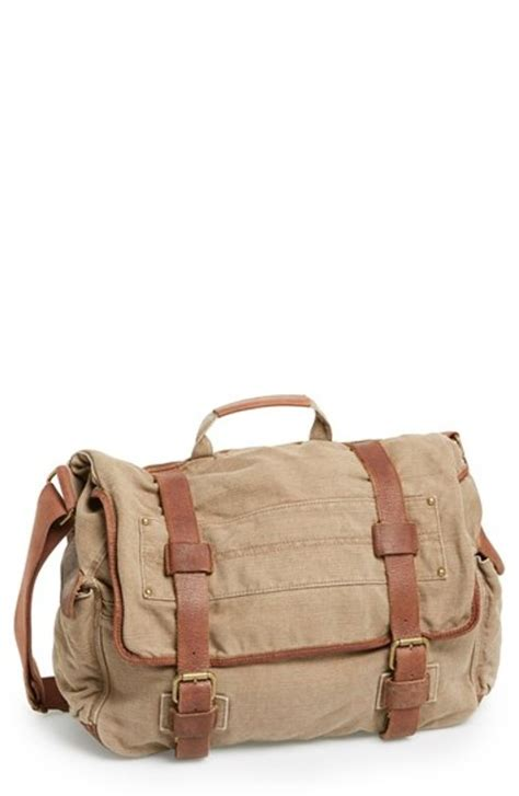 ruffalo rawlings canvas messenger bag from begin