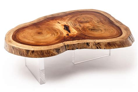 natural wood desk top natural wood slab coffee coffee design ideas