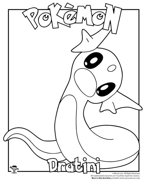 pokemon coloring pages dratini dragonair sketch by coolman666 on deviantart pokemon