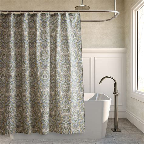 denim shower curtain laura ashley maiden lane denim shower curtain from