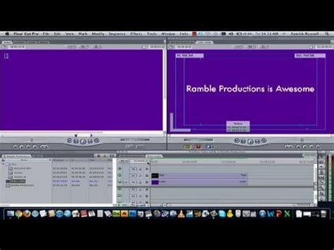 Final Cut Pro Background Color | how to get a solid color background in final cut pro