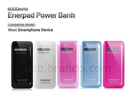 Power Bank Enerpad enerpad power bank 6 000mah