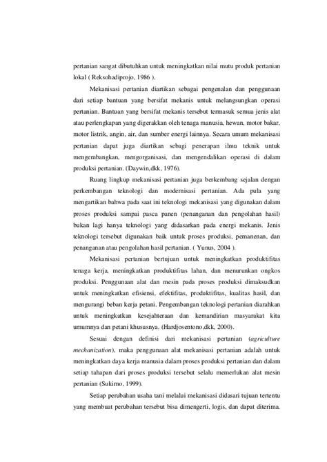 laporan praktikum membuat motor listrik sederhana laporan praktikum mekanisasi pertanian full