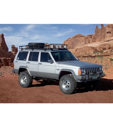 jeep cherokee xj sunroof jeep cherokee xj 183 ranger w tire rack 183 4 independent led