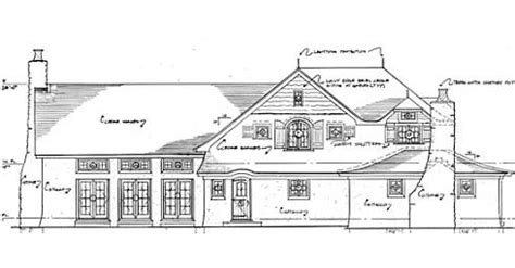 house floor plans with pictures storybook house plans cozy country cottages