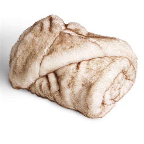 faux fur coverlet faux fur throw polar mille boutique