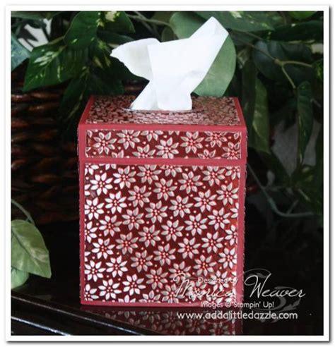 Plenty Tissue petals a plenty metal embossed tissue box cover by