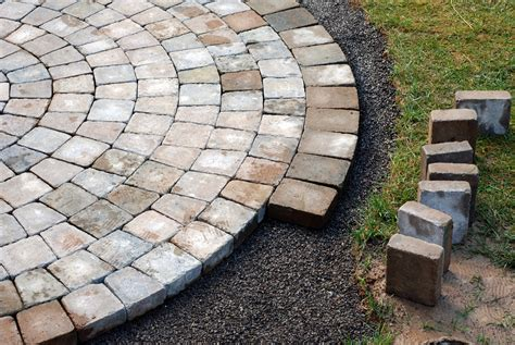 Install Patio Pavers Yes Landscaping Custom Pictures Of Landscaping Using Bricks As Pavers