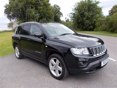 suv jeep 2013 2013 13 jeep compass 2 2 crd limited 4x4 suv in