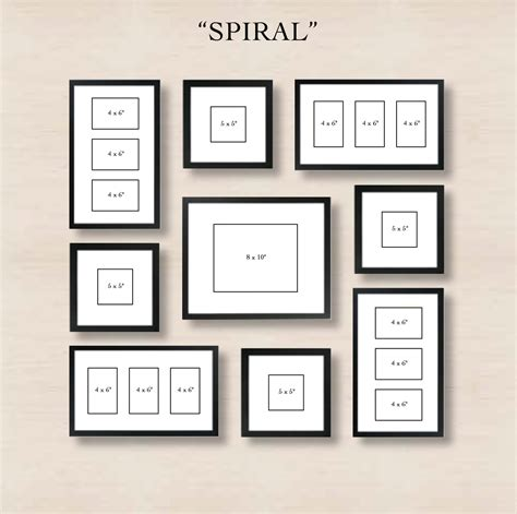 que es un frame layout spiral gallery wall layout tip start with placing the