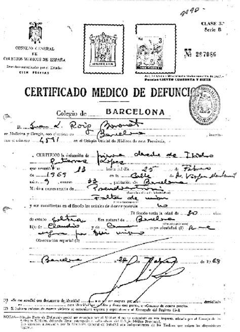 certificado de defuncion pin busaca im 225 genes certificado m 233 dico on pinterest