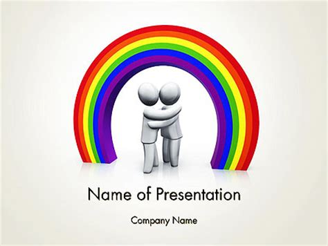 Lgbt Powerpoint Template Backgrounds 13149 Poweredtemplate Com Free Lgbt Powerpoint Templates
