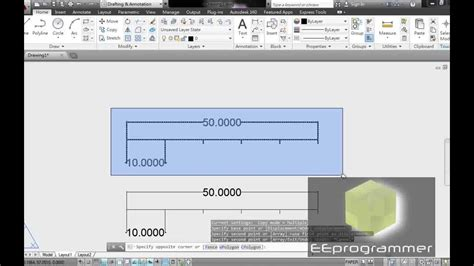autocad tutorial scale drawing autocad 2014 tutorial scale and detail view in 5 mins