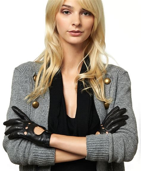 women s womens leather driving gloves by pratt and hart free usa