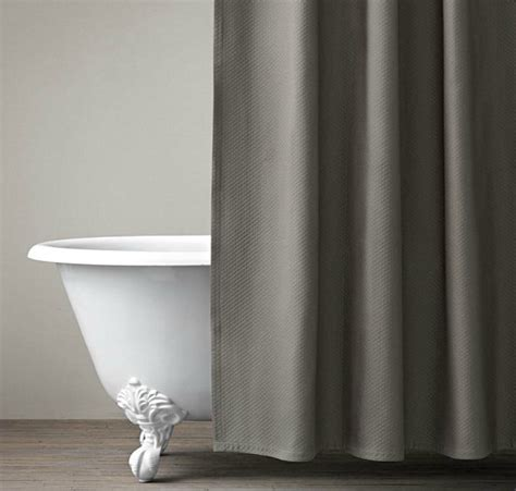 grey shower curtain refreshing shower curtain designs for the modern bath
