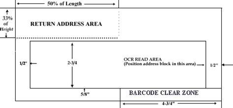 usps envelope printable area ums basic postal regulations