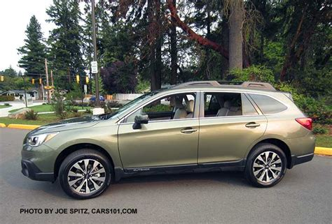subaru light green 2016 outback exterior photographs