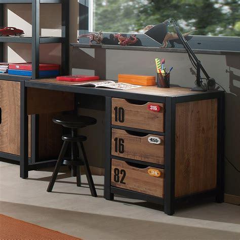 bureau d 騁ude strasbourg bureau adolescent 3 tiroirs industry zd1 buro ado c 001 jpg