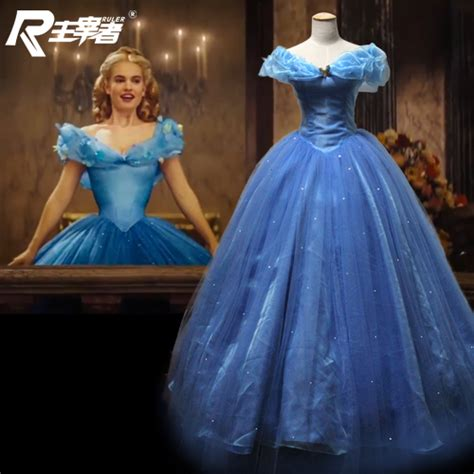 cinderella film how long aschenputtel cosplay abend kleid lang long ball film 2015