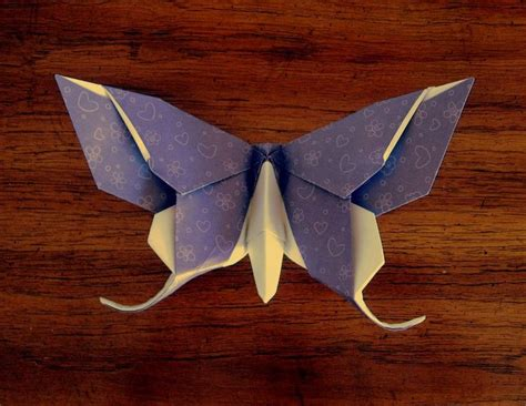 Origami Of Butterfly - best 25 origami butterfly ideas on easy