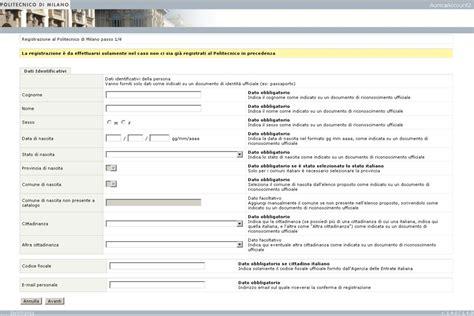 polimi test design poliorientami come iscriversi al tol