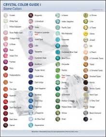 swarovski color chart 2009 swarovski color charts artbeads