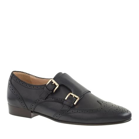 womens monk loafers perforated monk loafers