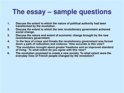 Essay Question Exles by Essay Questions 301 Moved Permanently How To Guide Answering An Essay Question L1