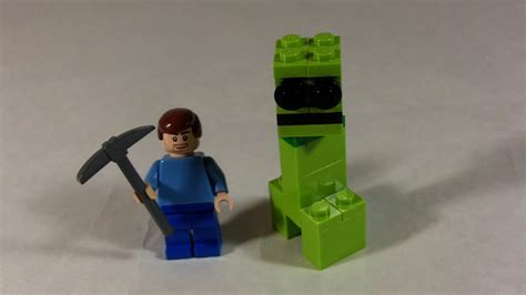 How To Make A Minecraft Steve Out Of Paper - how to build lego minecraft creeper steve