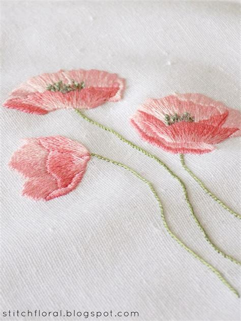 Handmade Embroidery Stitches - 17 best ideas about embroidery patterns on