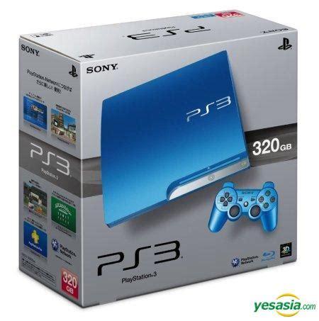 Playstation 3 Sony Made Id Jepan Hdd 320gb Fu Premium B15 O115 yesasia playstation 3 slim console hdd 320gb splash blue