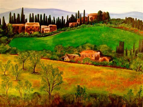 tuscan landscape design by ricci artwork celeste network