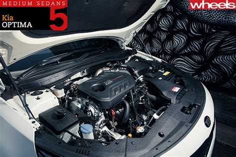 Kia Optima Engines Family Sedan Comparison Review Kia Optima Gt
