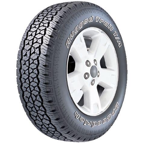 rugged truck tires bf goodrich rugged trail ta tire lt265 70r17 e 121 118r walmart