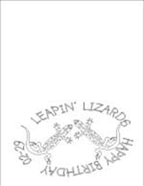 leap year birthday card template birthday coloring pages printables