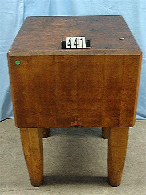used butcher block for sale http www artfact auction - Used Butcher Block For Sale